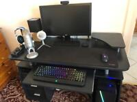 Computer Desk with Shelves and Drawers - GREAT CONDITION
