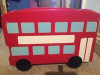 London toy storage box