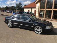 Audi S8 4.2 Quattro Auto Black Rare Car