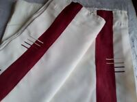 Curtains lined pencil pleat cutains