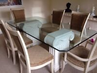 Barker & Stonehouse Dining Table and 6 chairs