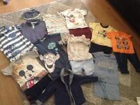 Baby joblot boys 6-9 month 21 items £10.00