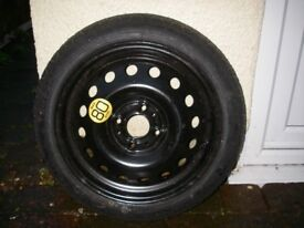new spare wheel for Nissan Note