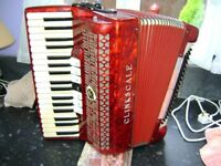 paolo soprani 80 bass accordion ladys model