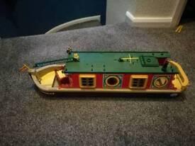 Sylvanian families narrow boat