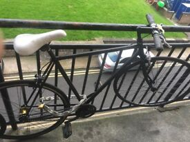 Nice Black Fixed gear/Single Speed Bike 55cm with extra small handle bar
