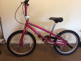 Mongoose BMX Girls bike. Good condition 4 year old. Always kept indoors £80