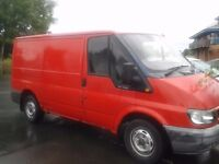 FORD TRANSIT VAN 260 SWB - FULLY BOARDED OUT- NO VAT