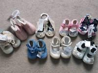 Baby girl shoe bundle NEW