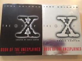 X-files volumes 1 & 2