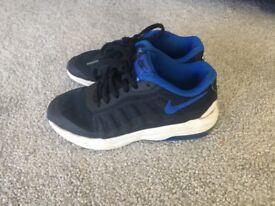 Boys Nike trainers, size 12