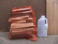 13 bags of kindling wood