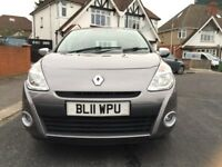 Renault Clio 1.2 petrol, 1 previous owner, full service history