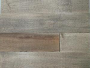 Pre oiled engineered maple or oak flooring 3,89$/sf