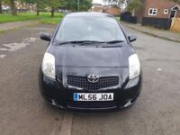 TOYOTA YARIS VVT-I 1.3 LITRE BLACK COLOUR IN VERY GOOD CONDITION