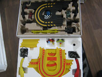 2 micro scalextric sets