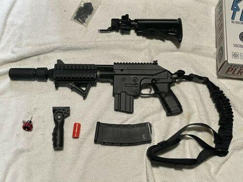 SOCOM Gear Kel-Tec Licensed PLR-16 Airsoft GBB AR Pistol w/Full Stock & Pistol