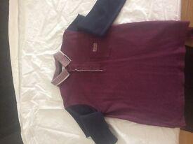 Boys Hugo Boss polo shirt