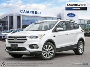 2018 Ford Escape Titanium AWD-NAV-LEATHER-POWER ROOF