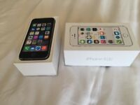 iPhone 5s 16gb on Vodafone lebara and talktalk. Boxed. Excellent condition. CAN DELIVER