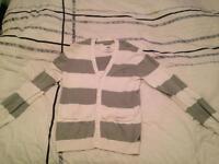 Men's size medium addict cardigan
