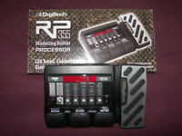 Digitech RP355 Guitar Multi-Effects Processor & USB Recording with 140 Presets and Drum Patterns.