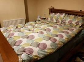 Double size duvet cover & pillowcases