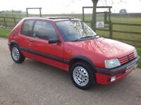Peugeot 205 GTI 1.6 Cherry Red Phase II