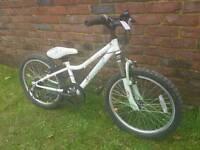 Girls mountain bike 20inch wheels