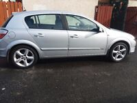 Vaxhall astra sri sliver for sale year 06 mot till end of October