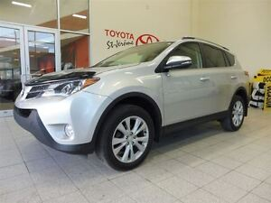 2013 Toyota RAV4 *LIMITED* AWD* CUIR* TOIT* MAGS*