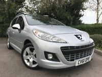2011 (61) Peugeot 207 SW 1.6 VTi 120 Allure 43,000 MILES ESTATE 1 OWNER IMMACULATE PEUGEOT SERV HIST