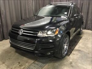 2014 Volkswagen Touareg Execline R-Line TDI Diesel no charge ext