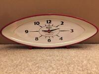 Newgate Bullitt red clock