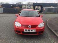 2008(58) Volkswagen Golf 1.9 TDI Automatic Match Fully Loaded FSH Timing Belt Done + Not Audi A4 A3