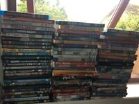 75 mixed dvds