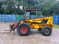 Climax tough terrain tr 25-4 fork truck fork lift tractor
