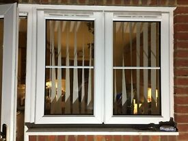 uPVC Kitchen window with frame (used)