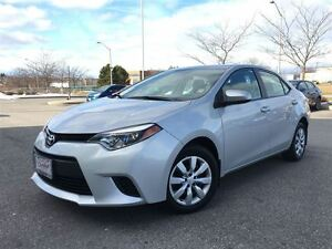 2014 Toyota Corolla LE|Heated Seats|Back-up Camera|1 Owner