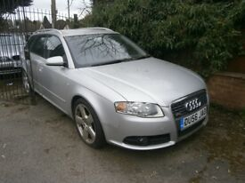 2006 AUDI A4 ESTATE 2.0 TDI S-LINE BREAKING FOR PARTS