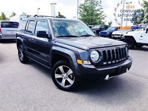 2016 Jeep Patriot HIGH ALTITUDE*LEATHER SEATING*POWER SUNROOF*NA