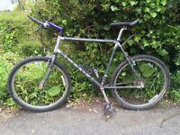 "Marin Palisades Trail MTB 20"" frame vintage 1990's bike Shimano group set"