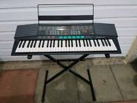 Yamaha 61 Key Psr-48 Electronic Portable Keyboard 5050 Dual Voices