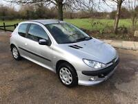 PEUGEOT 206 AUTOMATIC 2005 LONG MOT LOOKS AND DRIVES PERFECT