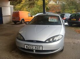 2000 (W) Ford Cougar Automatic Long MOT £495