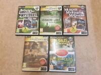 5 PC CD -ROM BIG FISH GAMES