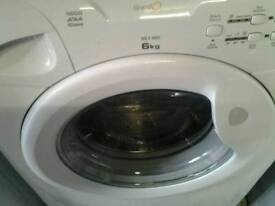Candy washing machine in new condition