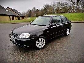 2006 HYUNDAI ACCENT...1.3 PETROL...ONLY 39K...ONLY 1 OWNER...FULL YEAR MOT...VGC