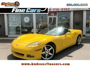 2006 Chevrolet Corvette CONVERTIBLE+HEADS UP DISPLAY - CERTIFIED
