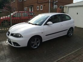 WHITE SEAT IBIZA 1.9 TDI SPORTRIDER. VERY RELIABLE AND ECONOMICAL. MOT DUE AUG 2018.
